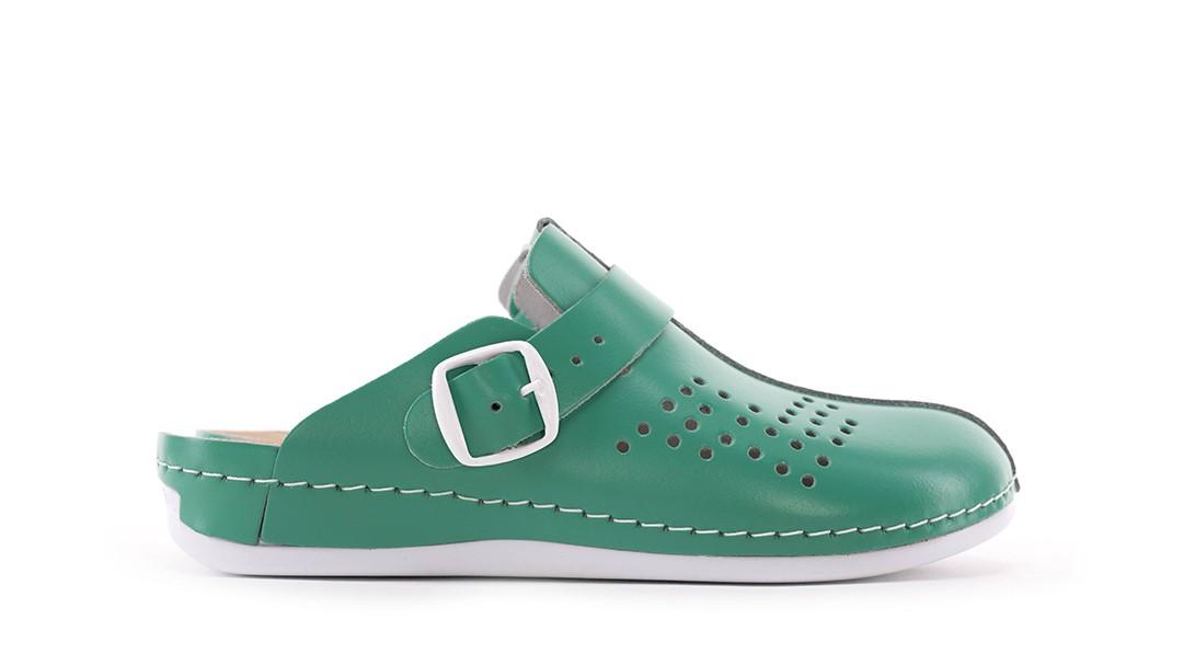 Free-step klompe - PU03 Zelene